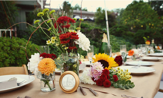 Backyard weddings are cute quirky intimate and most