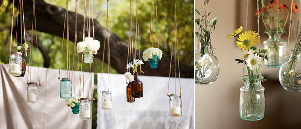 wedding hanging decor, hanging flowers, hanging candles, hanging decor (9)