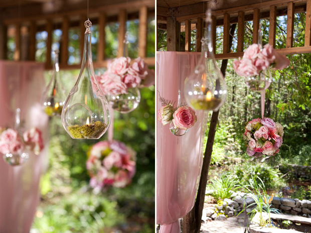 wedding hanging decor, hanging flowers, hanging candles, hanging decor (4)
