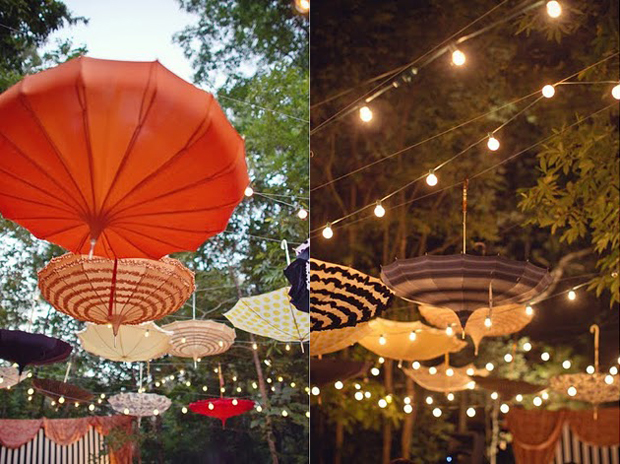 Sativa 39 s blog genius idea at this old circus themed for Decor umbrellas