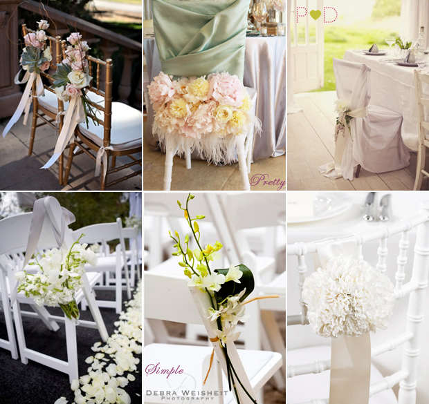 Dream Ideas ~ How to Style Wedding Chairs {Part 3} - Pocketful Of