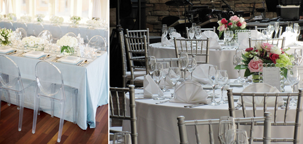 Wedding Chairs, Chiavari, Ghost