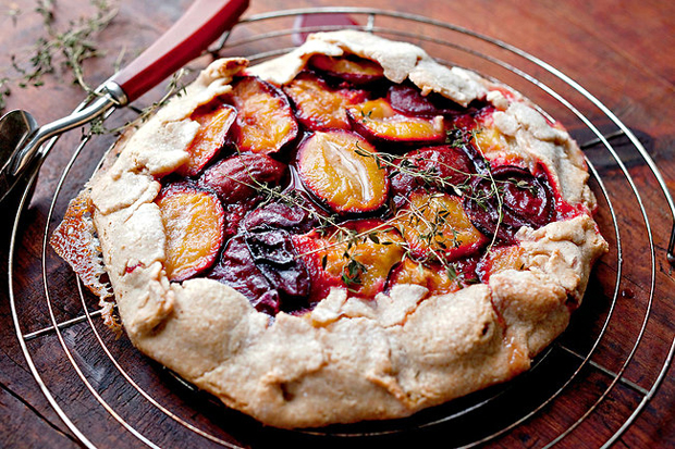 Tipple and Treats Plum and Berry Wedding Food Plum Crostata Berry Mulled
