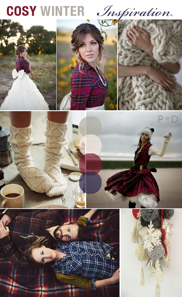 Winter Wedding, Inspiration Board, Mood Board, Bridal Inspiration, Plaid, Wool, Winter Woollies, Winter Inspiration, Wedding Styling Ideas, Pocketful of Dreams, Wedding Planner North West (2)