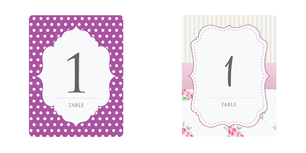 Including everything from the savethedate card to wedding invitations