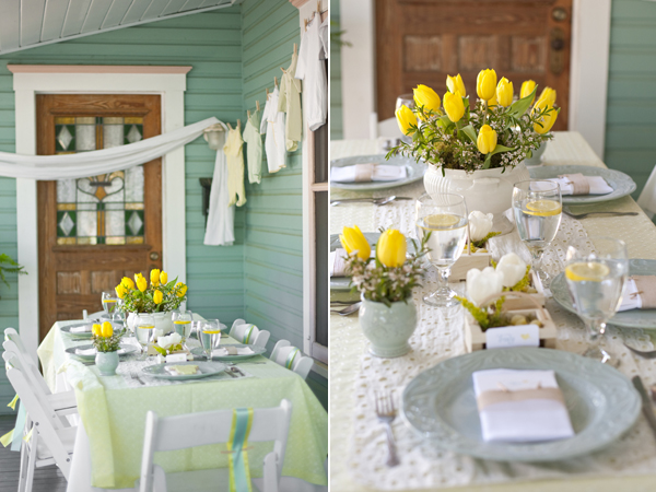 yellow baby shower yellow party baby shower party styling ideas