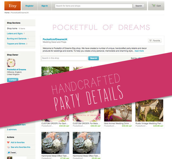 Shop, ONline Shop, party Boutique, Wedding Details, Handcrafted Wedding, DIY Wedding, Party Pieces, Party Decor, Party Details, Pocketful of Dreams, Wedding Planning, Event Design (1)