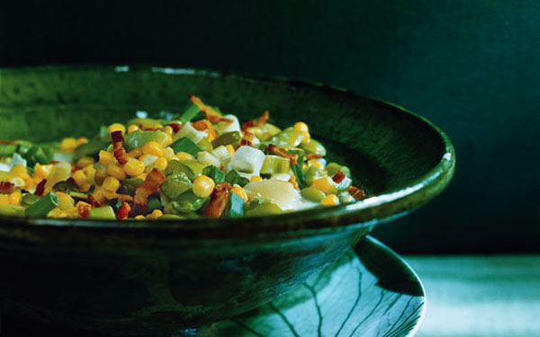 food, recipe, healthy food, succotash, native American dish, healthy eating, weekend lunch ideas, dinner party ideas (2)