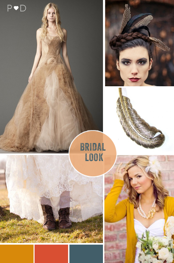 Autumn, Autumnal, Fall, Falling for Autumnal, bride, groom, bridal look, bridal look book, bride with cardigan, groom look, groom styling, tweed suit (2)
