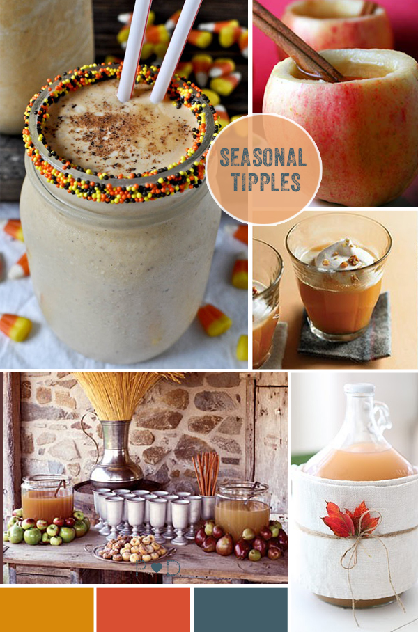autumn, autumnal, fall, wedding inspiration, rustic wedding, party inspiration, food, drink, seasonal produce, party food, tipples, party drinks, pumpkin, apples, harvest, falling for Autumn (4)
