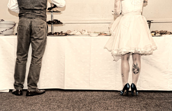 real wedding, wedding photography, spontaneous wedding, personality filled wedding, intimate wedding, small budget wedding, DIY wedding, short wedding dress, coloured wedding shoes, C and G Photography (9)