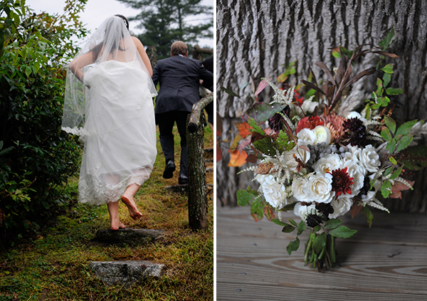 real wedding, wedding photography, mountain wedding, outdoors wedding, wet weather wedding, rustic chic wedding, Whitmeyer Photography (2)