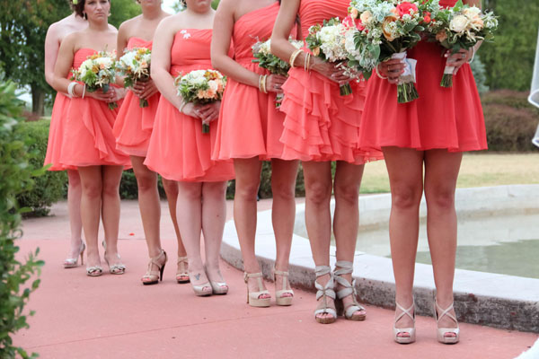 real wedding, wedding photography, wedding inspiration, hot coral wedding, shabby chic, rustic, outdoor wedding, In His Image Film & Photo (8)