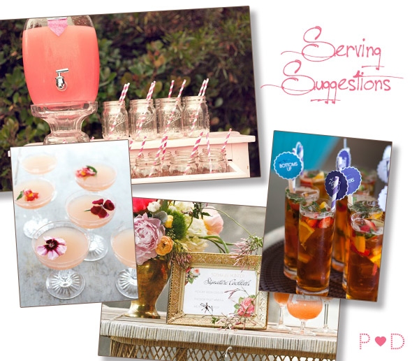 wedding reception, drinks reception, party drinks, party drink ideas, cocktails, signature cocktails, drink stirrers, cocktail styling, bar, drinks to serve at a party (3)