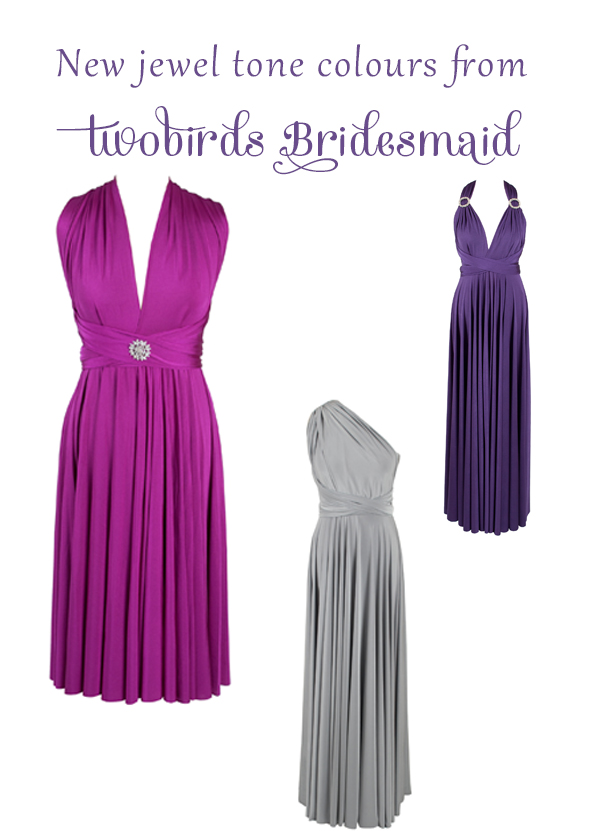 bridesmaids, bridesmaid dresses, twobirds Bridesmaid, individual bridesmaid dresses, jewel tone dresses, Michelle Hailey, inspiring women, bridal fashion, bridesmaid fashion, innovative bridesmaid dresses, mismatched bridesmaids, wedding fashion trends (1)