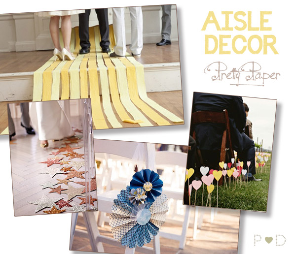 aisle decor, aisle styling, style the aisle, ceremony decor, aisle styling, paper aisle decor, alternative aisle decor, quirky aisle decor (2)