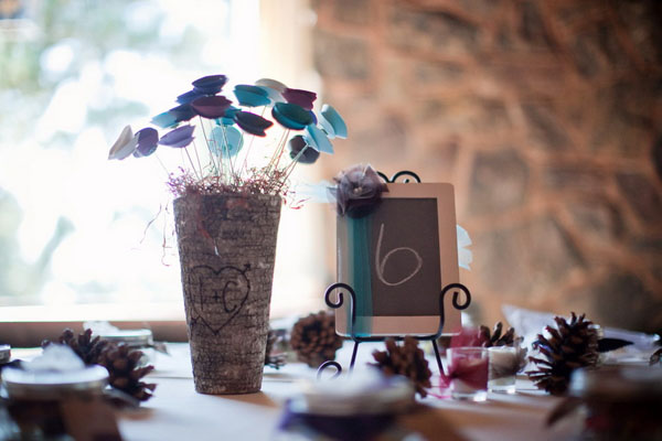 real wedding, wedding photography, rustic wedding, country chic, pine cones, outdoor ceremony, first look, private first dance, autumn wedding, jewel tones, autumnal colours, Root Photography (9)