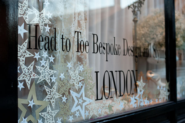 festive decadence, christmas styling, window styling, window dressing, decadent, golds and creams, indulgence, sumptuous, decadent design, Intricate Creations, Philippa Craddock Flowers, The State of Grace (8)