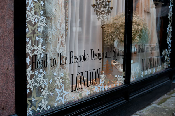 festive decadence, christmas styling, window styling, window dressing, decadent, golds and creams, indulgence, sumptuous, decadent design, Intricate Creations, Philippa Craddock Flowers, The State of Grace (13)