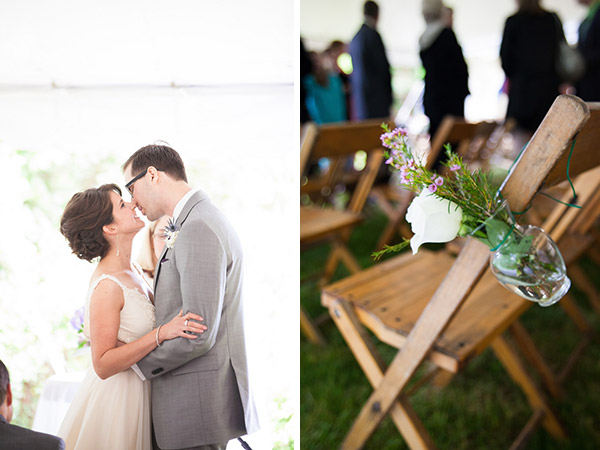 real wedding, wedding photography, wedding design, wedding styling, wedding inspiration, DIY wedding, wedding flowers, rainy wedding day, wedding day umbrellas, two wedding dresses, first look, Melissa and Dan Photography (3)