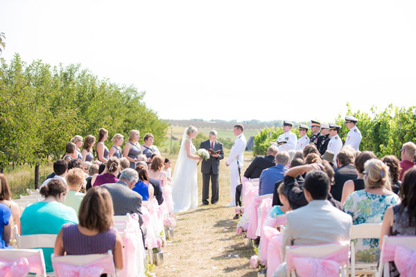 real wedding, wedding photography, outdoor wedding, rustic wedding, country wedding, pink wedding, lace, military wedding, military uniform, DIY, Dan and Melissa Photography (9)