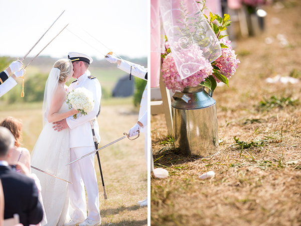 real wedding, wedding photography, outdoor wedding, rustic wedding, country wedding, pink wedding, lace, military wedding, military uniform, DIY, Dan and Melissa Photography (2)