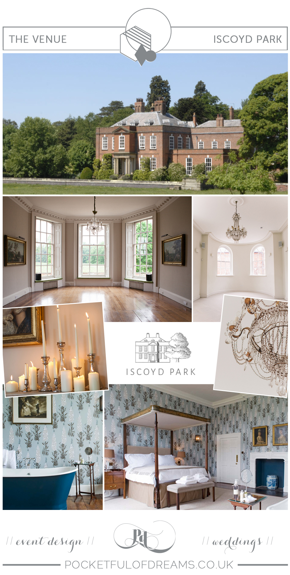 Country Elegance, Country House Wedding, Weekend Wedding, Elegant Wedding, Luxury wedding, Pocketful of Dreams, Wedding PLanner, UK, England, Destination Wedding, English Wedding, British Wedding, Country House Wedding Venues, Iscoyd Park