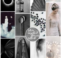 Pocketful of Dreams, Dark Wedding, Mono Wedding, Modern Wedding, Wedding Planner