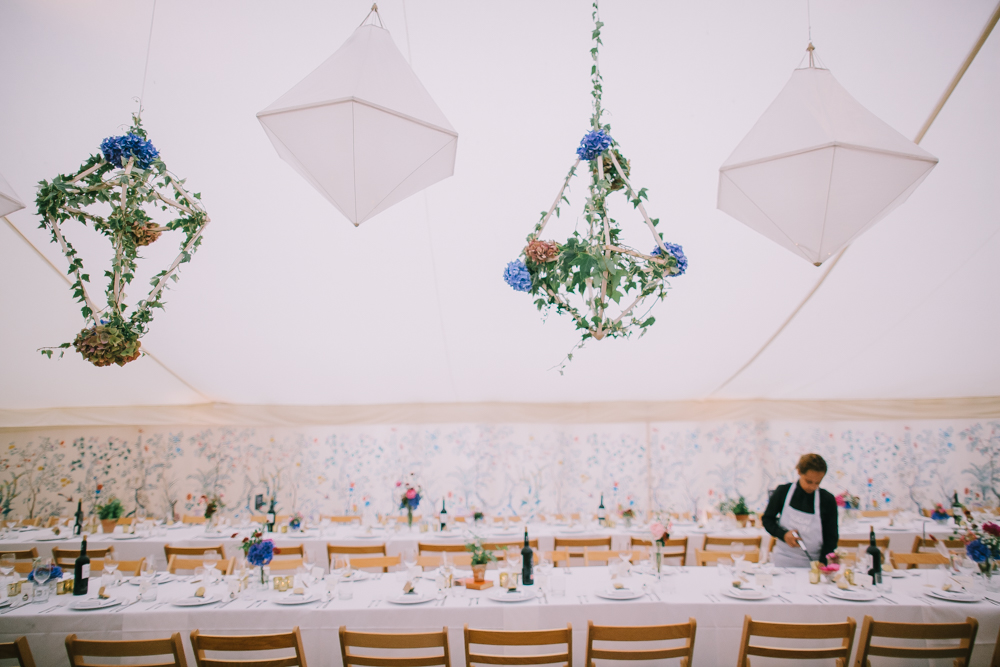 understated elegant wedding, private estate, surrey wedding, wild flowers wedding, marquee wedding, LPM bohemia, Social Pantry, Pocketful of Dreams, Chris Barber