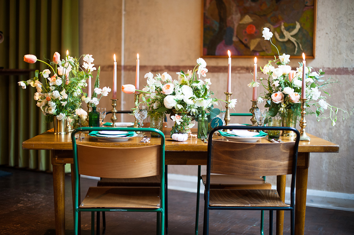 Winter wedding styling london, wedding planner, wedding stylist, pocketful of dreams, Toby and Laura, Tanner Warehouse, You and Your Wedding Magazine