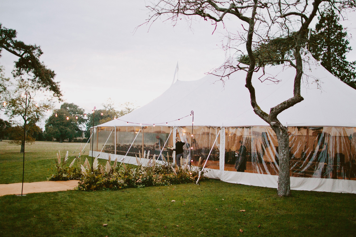UK wedding planner, Best planner in England, marquee wedding at Wilderness reserve with Papakata tent and Swallows and Damsons florals
