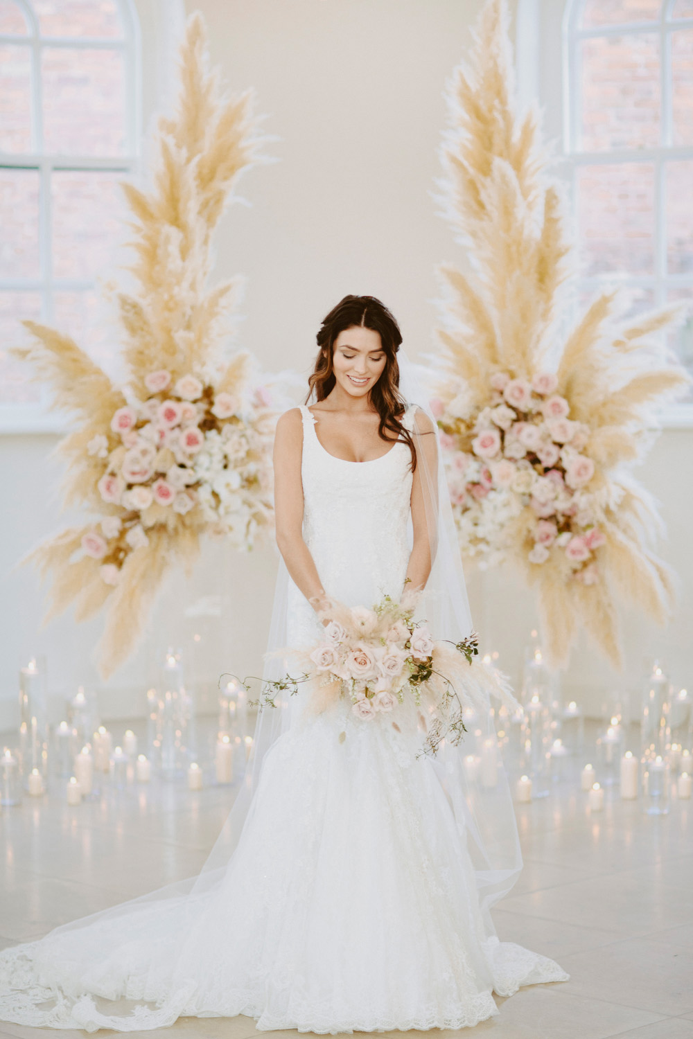 Zac Posen Bridalwear, Brand Shoot, Branding Shoot, Editorial Shoot, Pocketful of Dreams, Iscoyd Park, David Jenkins, Luxury Wedding, Understated Glamour wedding, Organic Wedding, Joseph Massie Flowers, Blush Pink Wedding, Modern Wedding, bridal musings